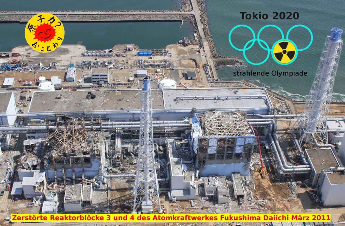 Keine Radiolympics! Kundgebung zum Fukushima Jahrestag in Hamburg