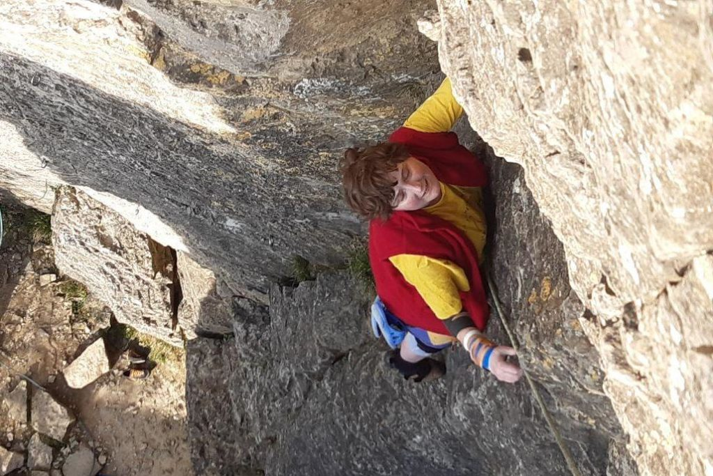 Felsklettern, März 2020