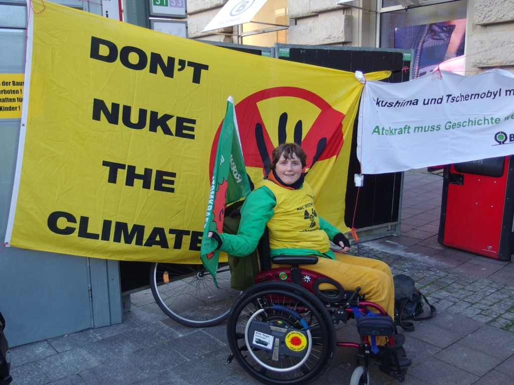 Kundgebung zum 9. Fukushima-Jahrestag in HH