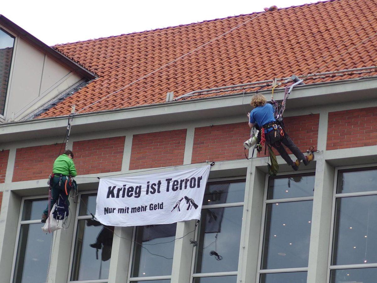 Kein Gelöbnis am 26. August 2021 in Lüneburg!