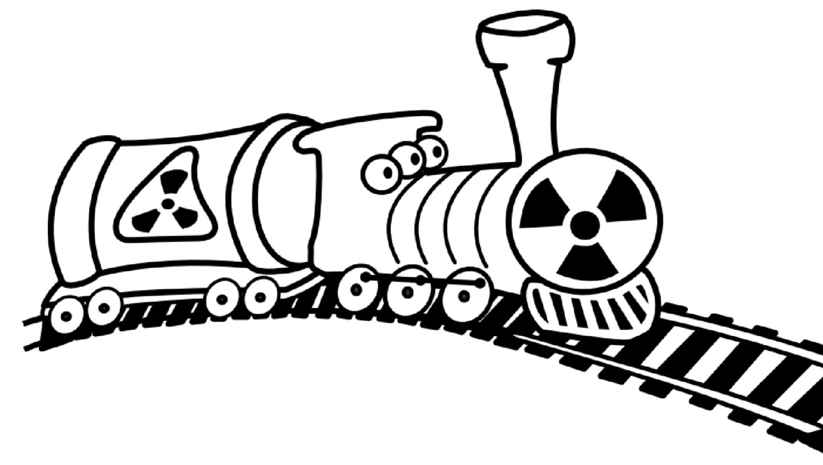 Russland ist keine Müllkippe für Atomabfälle!