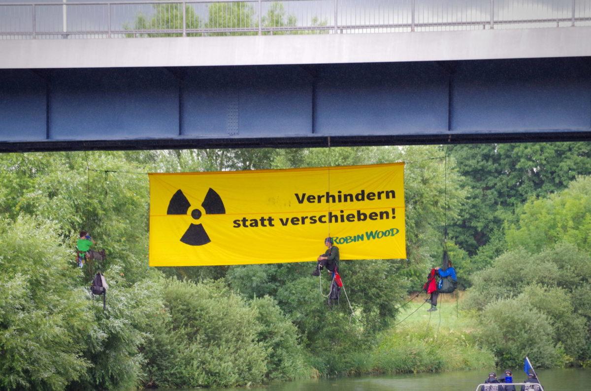 CASTOR: Atomtransport ALARM!