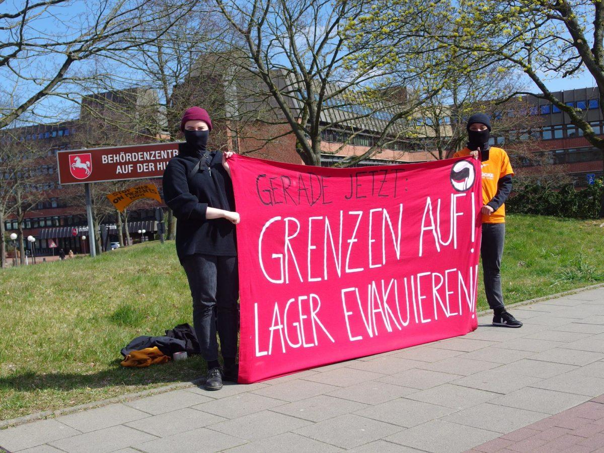 Bildergalerie #LeaveNoOneBehind Kundgebung in LG