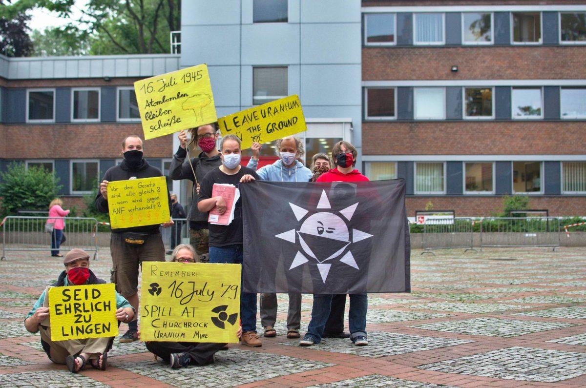 Erfolgreicher Prozess- und Protesttag gegen ANF in Lingen