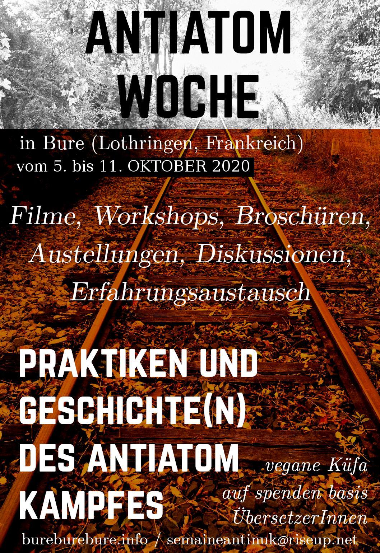 Antiatom-Woche in Bure und die deutsche «Endlagersuche»