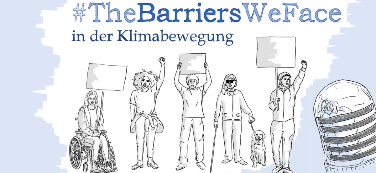 #TheBarriersWeFace in der Klimabewegung