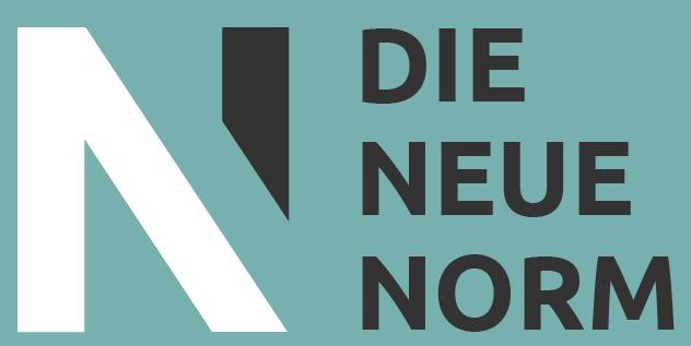Logo die neue Norm