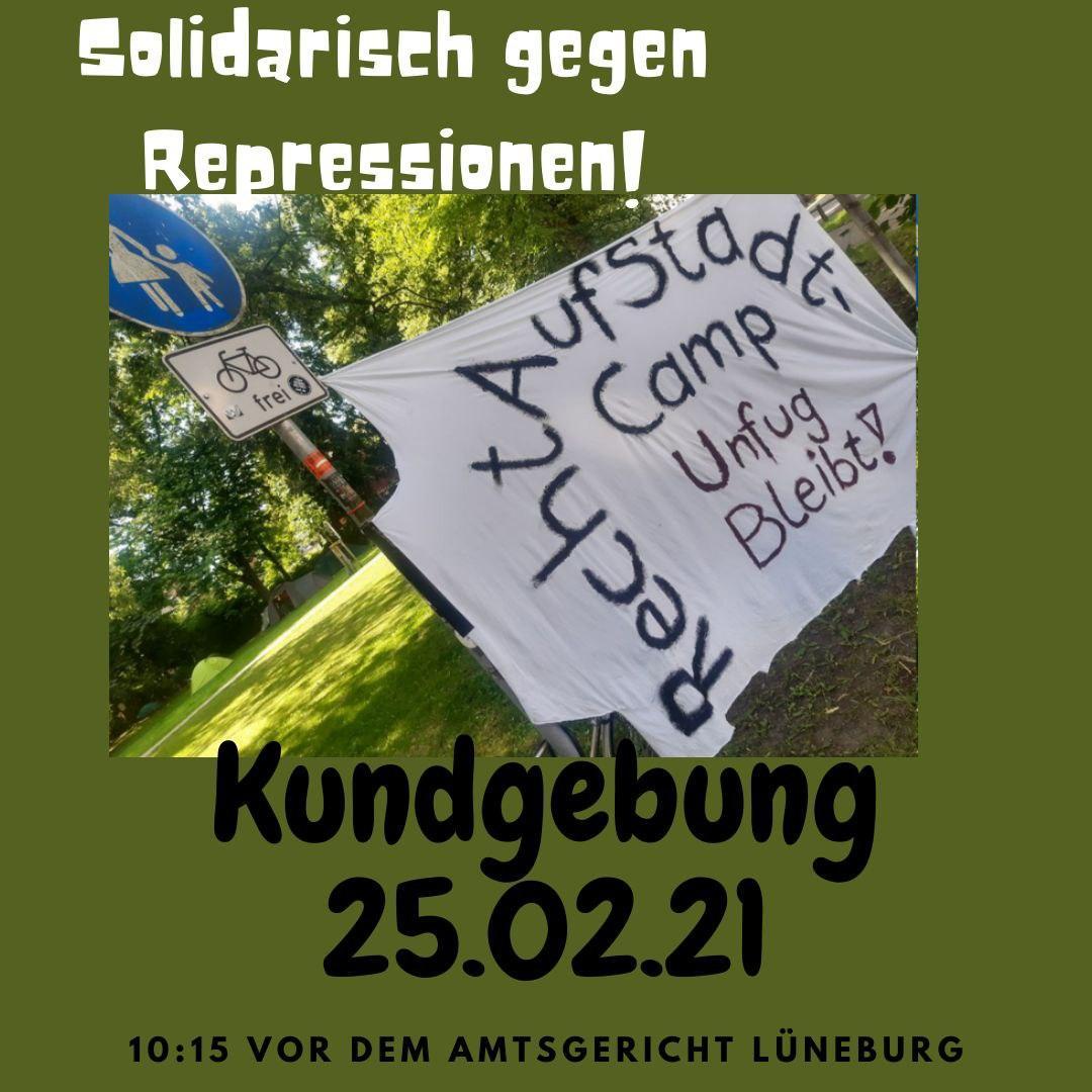 RechtAufStadt für alle! Soli-Kundgebung am 25.2. in LG