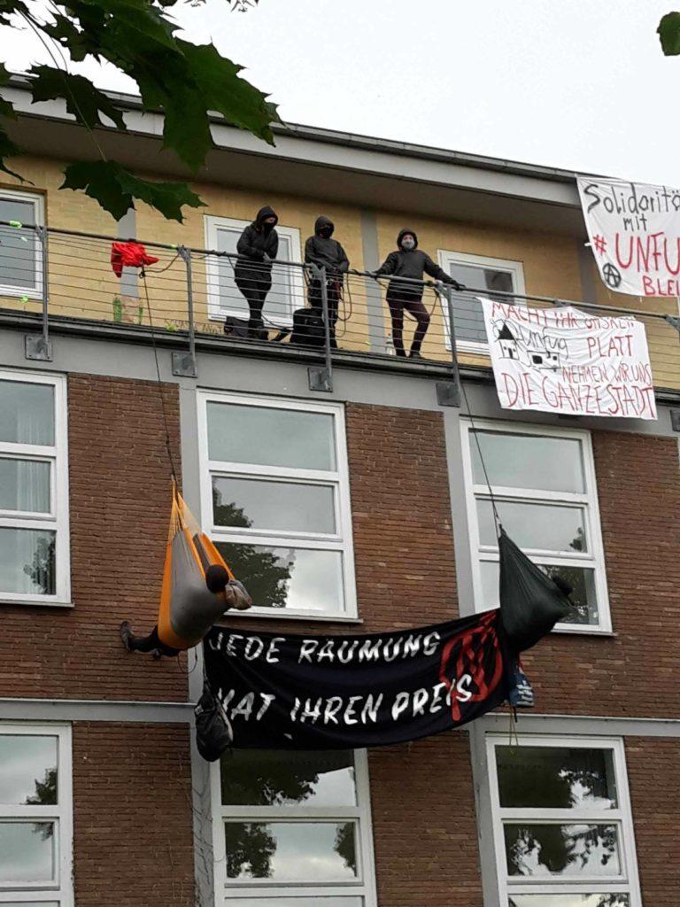 Hausbesetzung in Lüneburg, 2.7.2021