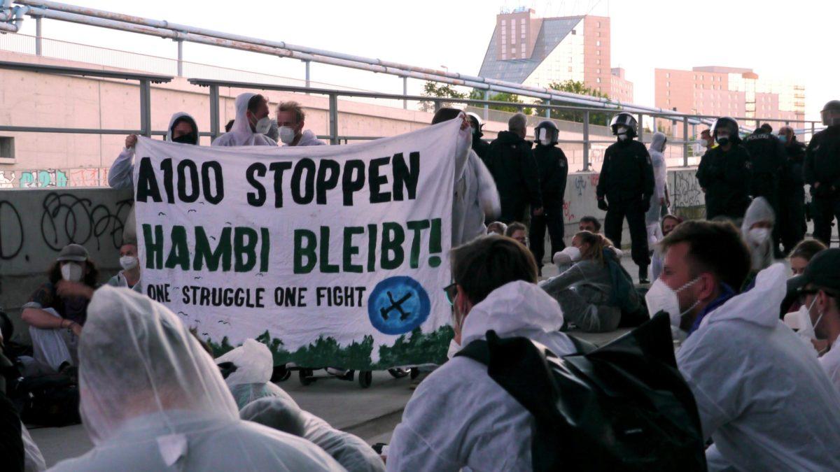 Mobilitätswende Jetzt! Aktionstag gegen die A100 in Berlin