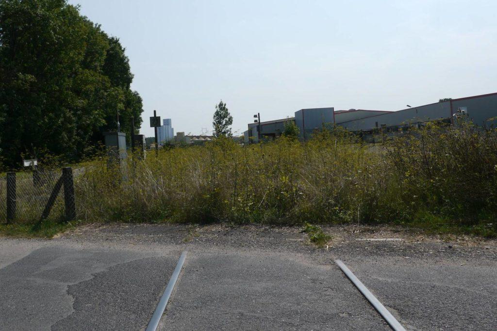 voie ferrée à l'abandon à Gondrecourt-le-Châreau